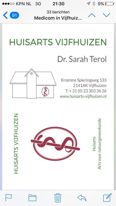 Huisarts-Vijfhuizen / Dokter Sarah